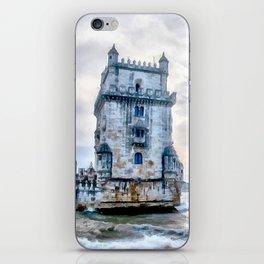 Belém Tower, Lisbon (Portugal) iPhone Skin