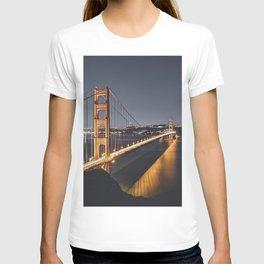 Golden Gate Glowing T-shirt