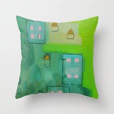 Tiny Houses Throw Pillow