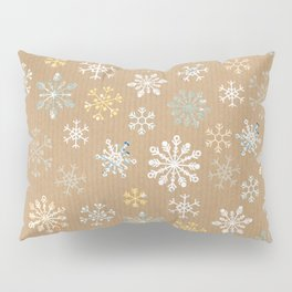 snow flakes pattern Pillow Sham