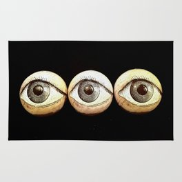 Three Eyes Watching You, Eyeballs Rug