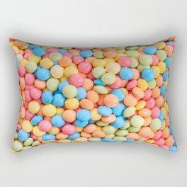 Sweet & Sour Pastel Candy Tarts Pattern Rectangular Pillow