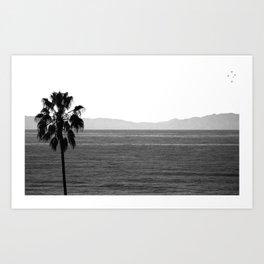 Coastal California Art Print