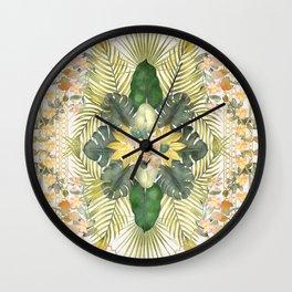 Tropical Foliage 09 Wall Clock