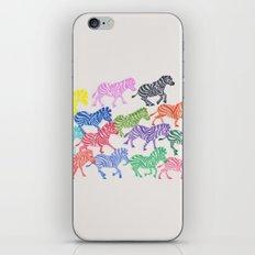 Rainbow Herd iPhone & iPod Skin