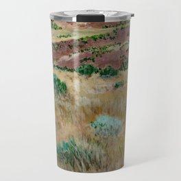Boise foothills acrylic painting Travel Mug