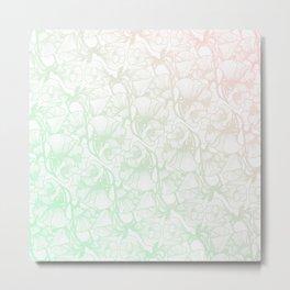 Glanzende Bloem Metal Print