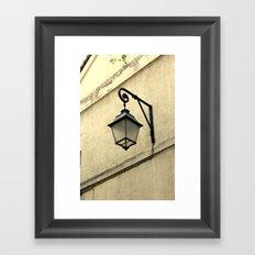Lantern Framed Art Print