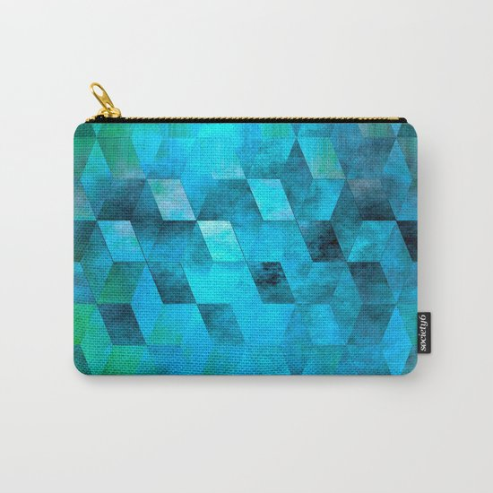 Stacked Sky (blue) Carry-All Pouch