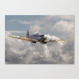 Spitfire - Portrait of an Icon Canvas Print