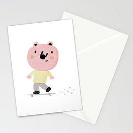 Bear Skater Stationery Cards