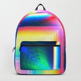 Digital Rainbow Backpack