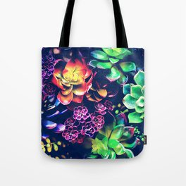 Colorful Plants Tote Bag