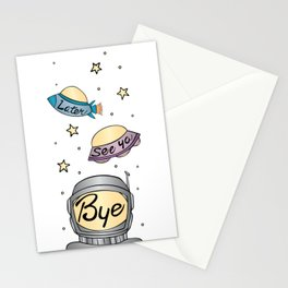 Later, See Ya, Bye Stationery Cards
