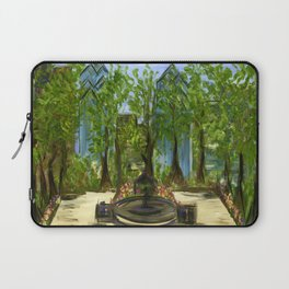 Rittenhouse Square in the Spring Laptop Sleeve