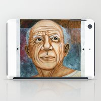 picasso iPad Cases featuring Pablo Picasso by Michael Cu Fua