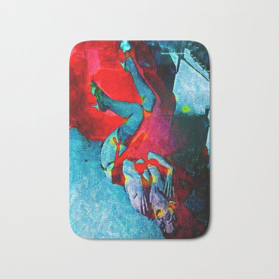 Fiery Desire Bath Mat
