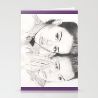 miley Stationery Cards featuring miley vs. miley by als3
