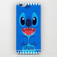 ohana iPhone & iPod Skins featuring Ohana. by S J A E