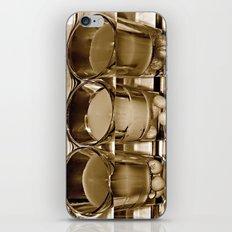 3 glasses iPhone & iPod Skin