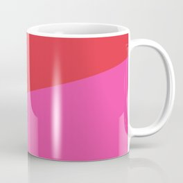 2COLOR | RED + PINK Coffee Mug