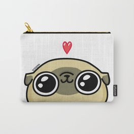 Mochi the pug loves you Carry-All Pouch