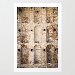 Misson San Juan Capistrano, California  // Travel the World Art Print