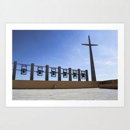 Padre Pio Pilgrimage Church Art Print