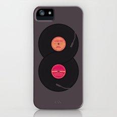infinity vinyl records Slim Case iPhone (5, 5s)