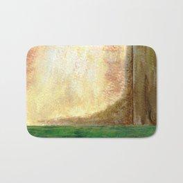 Awakening, Abstract Landscape Bath Mat