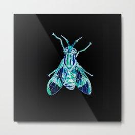 Deer Fly (Inverted) Metal Print
