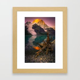 Mount Robson (Fine Art Landscape Photography) Framed Art Print