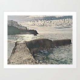 Tenerife Ocean View Canary Islands Art Print