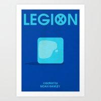 Legion Minimalist Poster - ICE Art Print