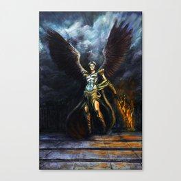 Archangel Expulsion Canvas Print