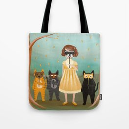 The Woodland Costume Party Tote Bag