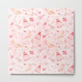 Pink dresses fashion #6 Metal Print