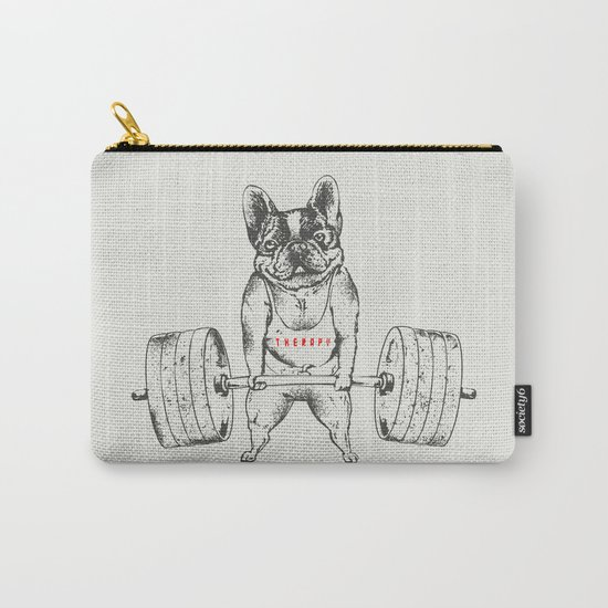 Frenchie Lift Carry-All Pouch