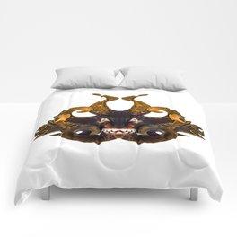 Demon Tribal Mask Comforters