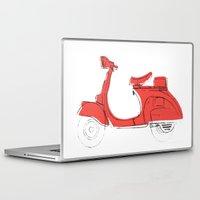 vespa Laptop & iPad Skins featuring Vespa by Matthew McLemore