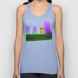 NY#2 Ground Zero, Purple Unisex Tank Top