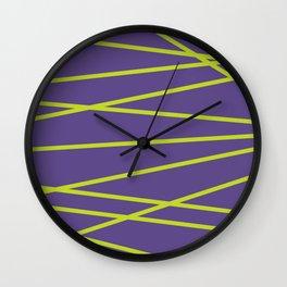 Violet Funk Wall Clock