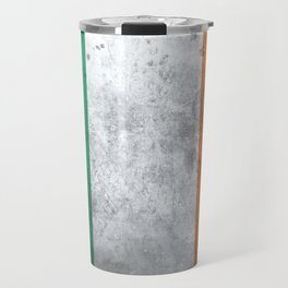 Distressed Irish Flag Travel Mug