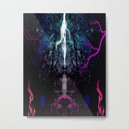 Lightening Strikes Metal Print
