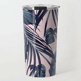 Tropical Jungle Leaves Dream #2 #tropical #decor #art #society6 Travel Mug