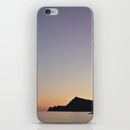 The Color Of Sunset iPhone & iPod Skin