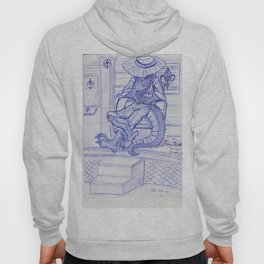 The Cajun Gator_Chillaxing Hoody