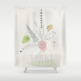 Judy's Bouquet Shower Curtain