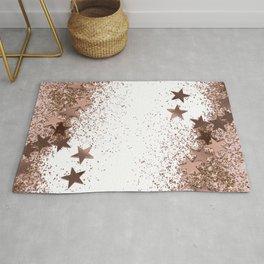 SHAKY STARS ROSEGOLD Rug