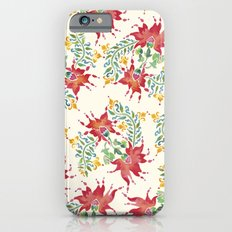 Dragon Flower Watercolor Slim Case iPhone 6s